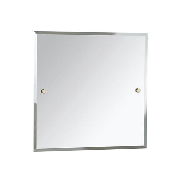 Bristan Square 600 x 600mm Mirror COMP MRSQ Gold