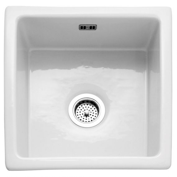 RAK 450 Gourmet Square Ceramic Kitchen Sink