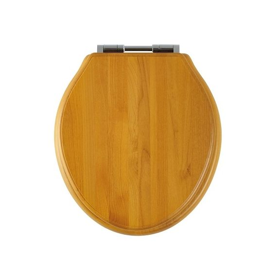 Greenwich Antique Pine Soft Close Toilet Seat
