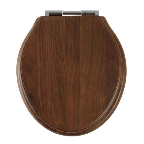 Greenwich Walnut Soft Close Toilet Seat