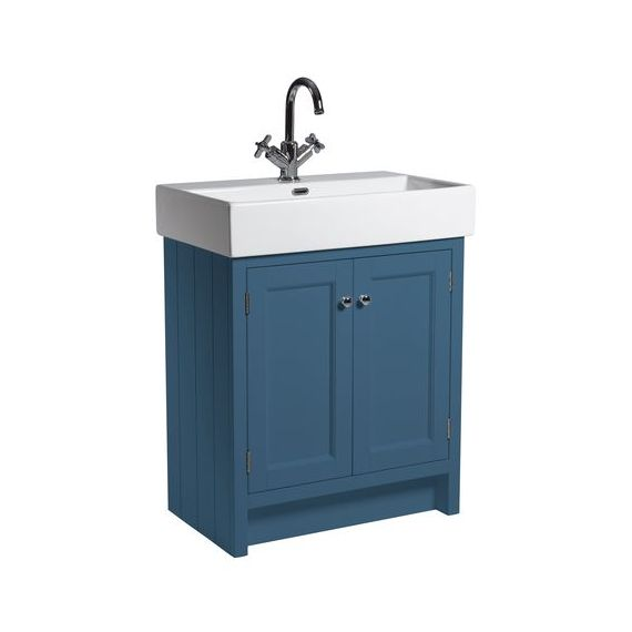 Roper Rhodes Hampton Double Door 700mm Basin & Unit Derwent Blue