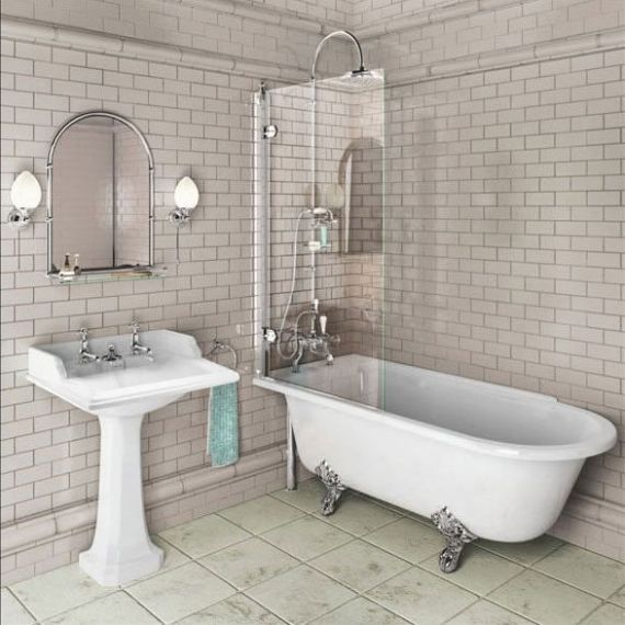 Burlington Hampton Shower Bath 1700 LH