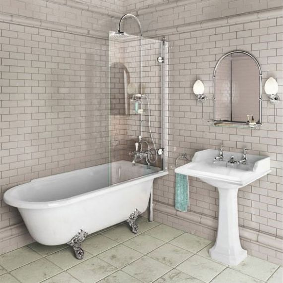 Burlington Hampton Shower Bath 1700 RH