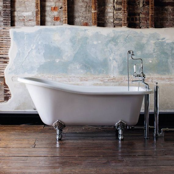Burlington Harewood 1700 Slipper Bath E1