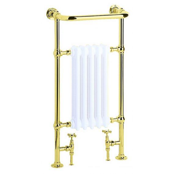 Heritage AHA80 Vintage Gold Clifton Baby Heated Towel Rail