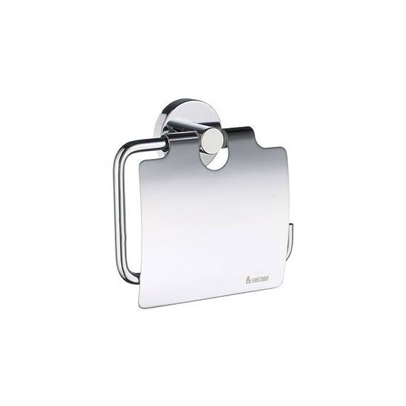 Smedbo Home Chrome Toilet Roll Holder with Cover