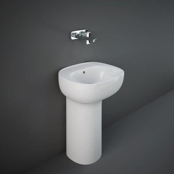 RAK-Illusion Freestanding Wash Basin 54cm - No Taphole