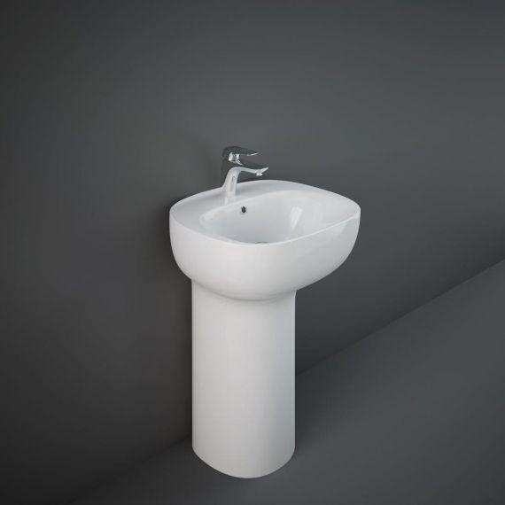 RAK-Illusion Freestanding Wash Basin 54cm - 1TH