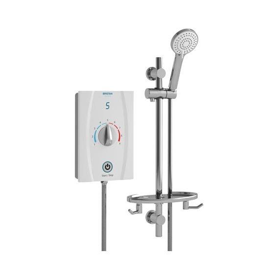 Bristan Joy Care Thermostatic 9.5kW Electric Shower JOYTHC95 W