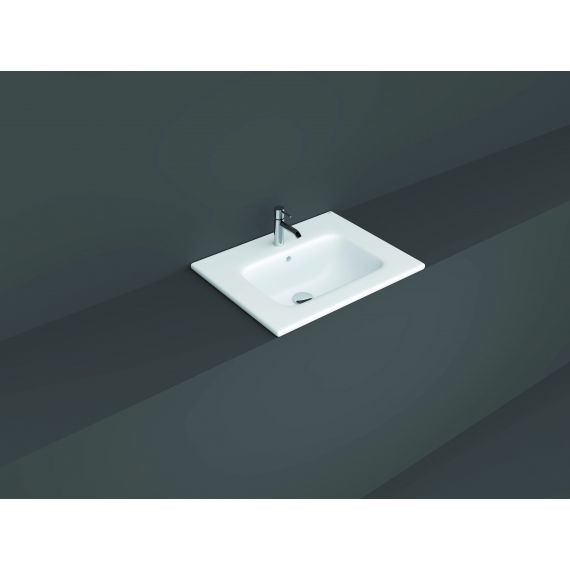 RAK-Joy Drop-in Washbasin 61x46cm (1 tap hole)