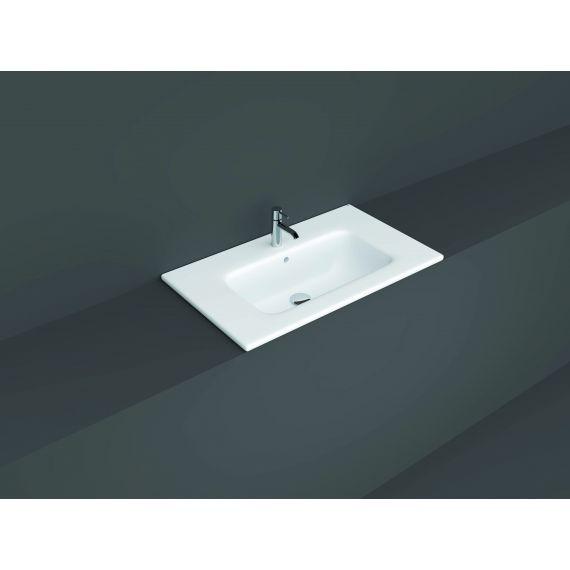 RAK-Joy Drop-in Washbasin 81x46cm (1 tap hole)