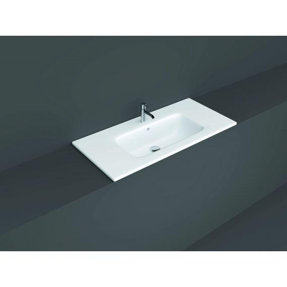 RAK-Joy Drop-in Washbasin 101x46cm (1 tap hole)