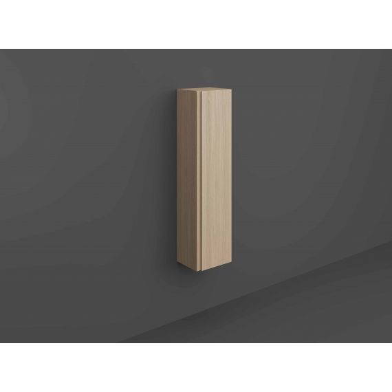 RAK-Joy Wall Hung Tall Storage Unit (Scandi Oak)