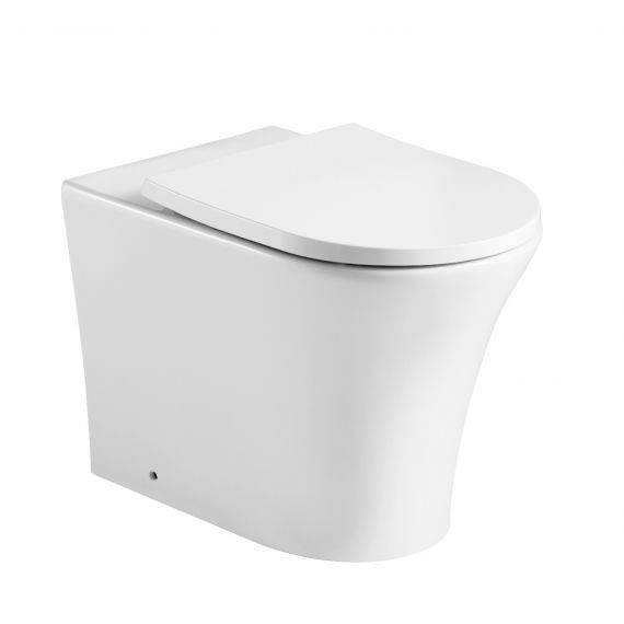 Kameo Back to Wall WC Toilet Pan inc Soft Close Seat