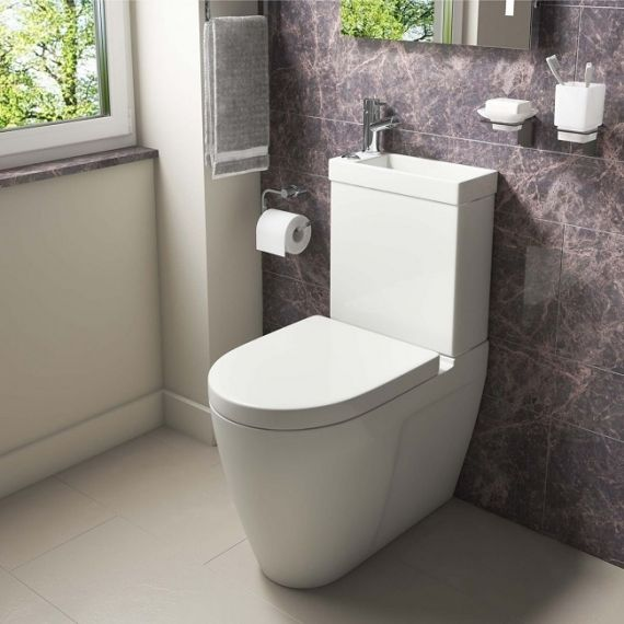 Kartell Mini 2-in-1 Toilet And Basin OFCMB