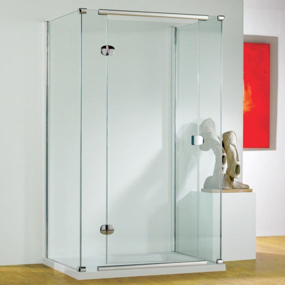 Kudos Infinite Semi-Frameless 1000mm Hinged Door Left Hand