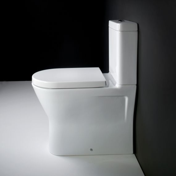 Resort Maxi Comfort Height Toilet Soft Close
