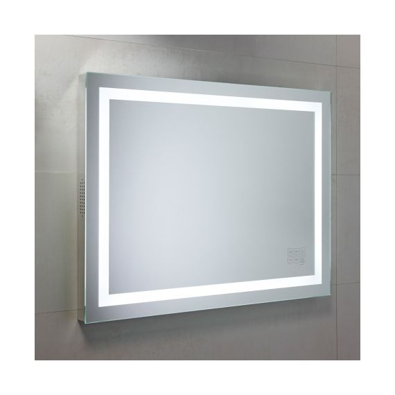 Roper Rhodes Beat Bluetooth Mirror 800 x 600mm Chrome MLE420