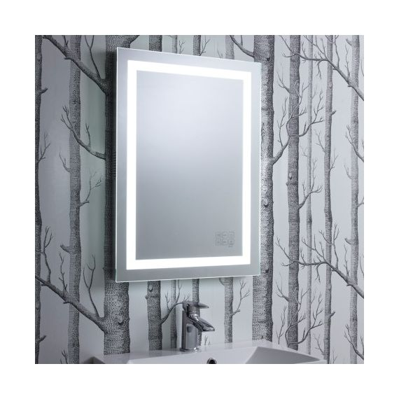Roper Rhodes Encore Bluetooth Mirror 500 x 700mm Chrome MLE430