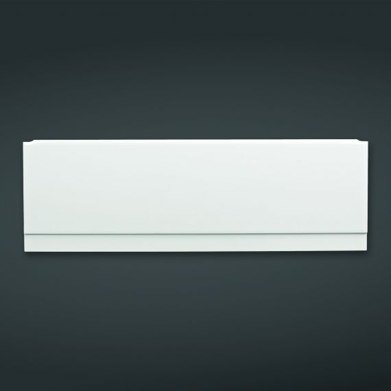 1800x585mm High Gloss White Front Bath Panel
