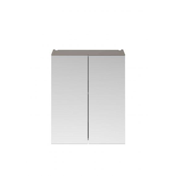 Nuie Athena Stone Grey 600mm Mirror Unit (50/50)