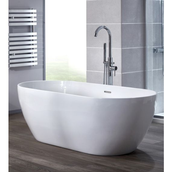 Grace 1650 x 700mm Free Standing Double Ended Bath Tub