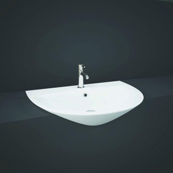 RAK-Morning 55cm Semi Recessed Basin 1th