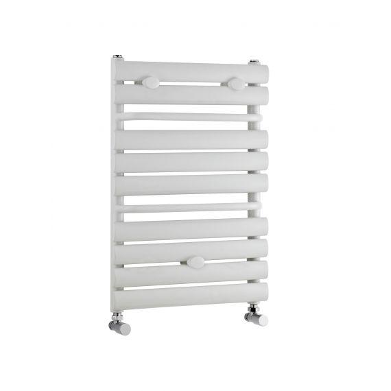 Nuie Heated Towel Rail  White 650 x 445mm