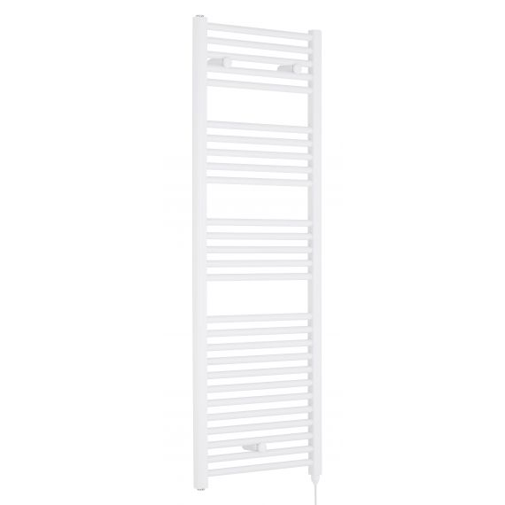 Nuie Electric Heated Towel Rail White 1375 x 480mm