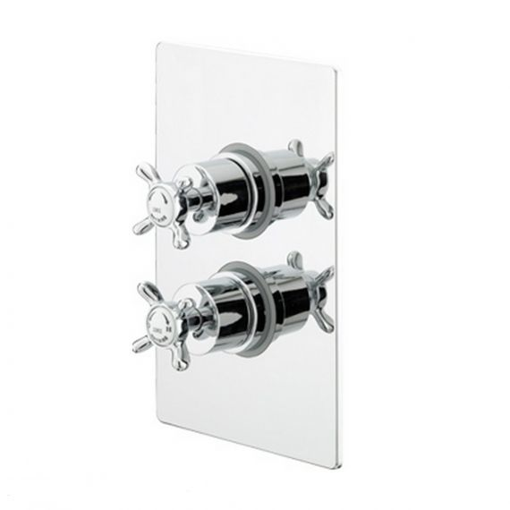 Bristan 1901 Thermostatic Recessed Dual Shower