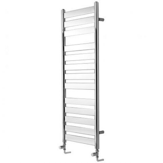 Newark Flat Fronted Towel Rail 500x952