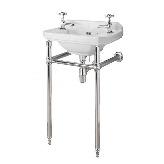 Hudson Reed Richmond Chrome Washstand