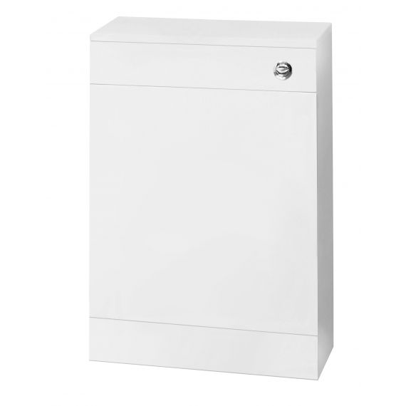 Nuie Gloss WHite 500mm WC Unit Including Concealed Cistern