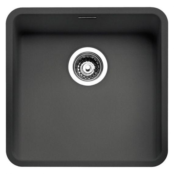 Reginox Ohio 40x40 CB Black Stainless Steel Sink