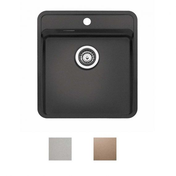 Reginox Ohio Coloured Stainless Steel Kitchen Sink Tap Wing 440 x 510mm