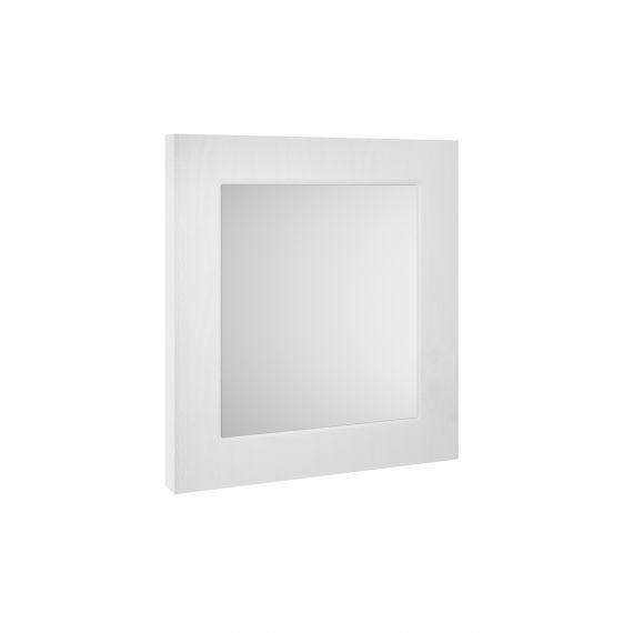 Nuie York White Ash 600mm Flat Mirror