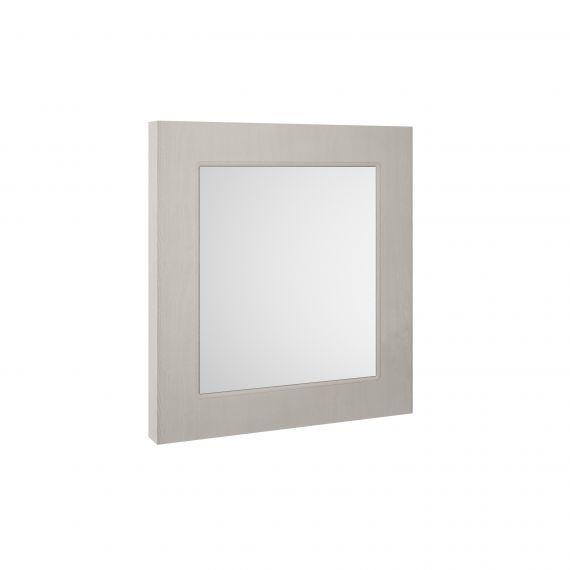 Nuie York Stone Grey 600mm Flat Mirror