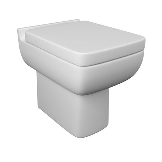 Kartell Options 600 Back To Wall Toilet Soft Close Seat