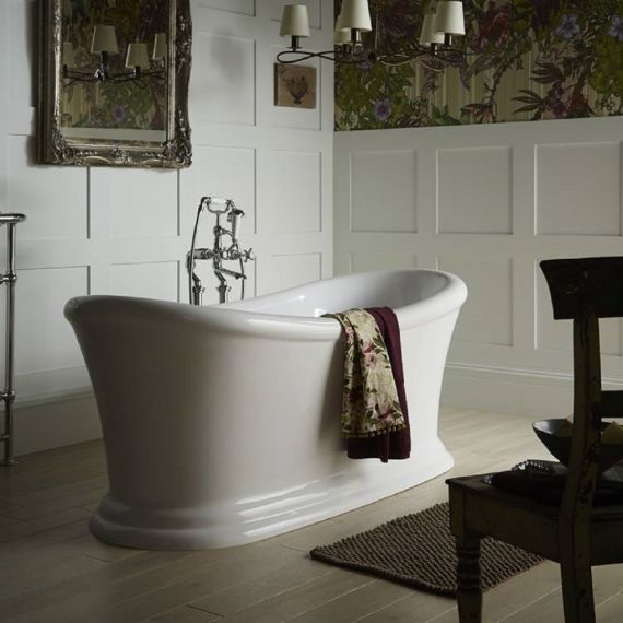 Heritage Orford  Slipper Roll Top Bath