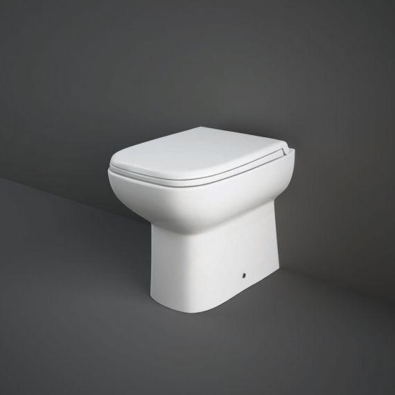 RAK ORG17AWHA/SC Origin Back To Wall Pan Inc Soft Close Seat