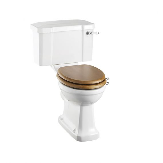 Burlington Close Coupled Rimless Toilet