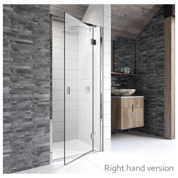 Kudos 800mm Hinged Door For Recess Right Hand