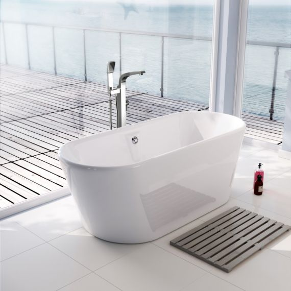 Pura Essence 1700 x 690mm Freestanding Bath PB108