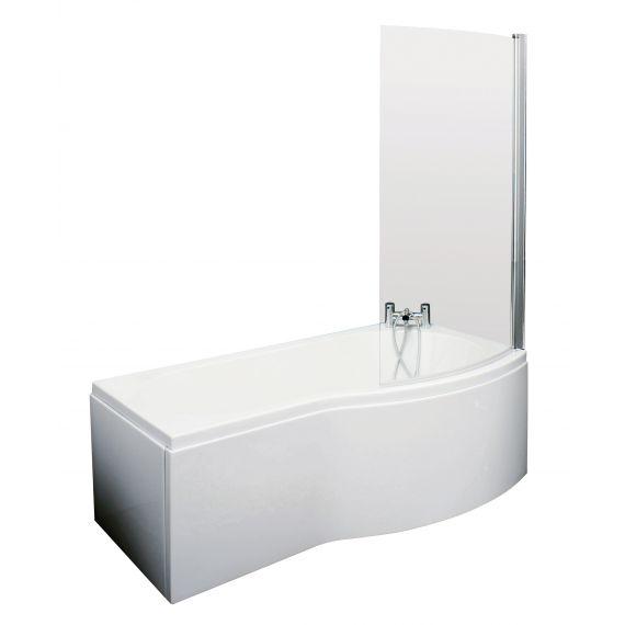 Nuie 1500mm B Shaped Right Hand Bath Set