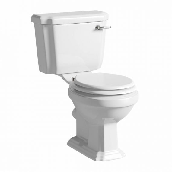 Astley Traditional Close Coupled Toilet and Seat