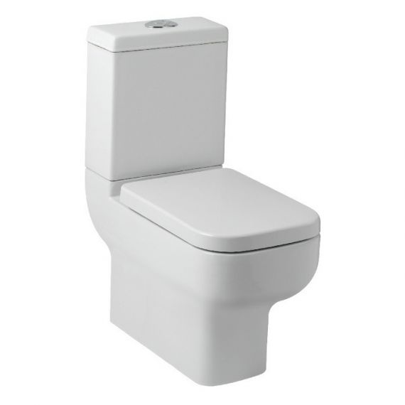 Options 600 Close Coupled Toilet inc Soft Close Seat