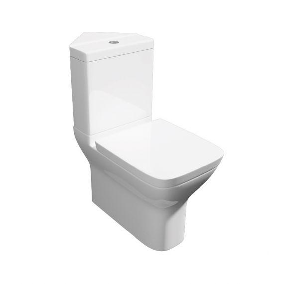 Project Modern Square Corner Toilet & Soft Close Seat