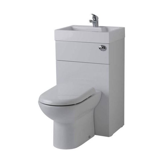 Linton Combination Toilet & Basin Unit Including BTW WC Pan