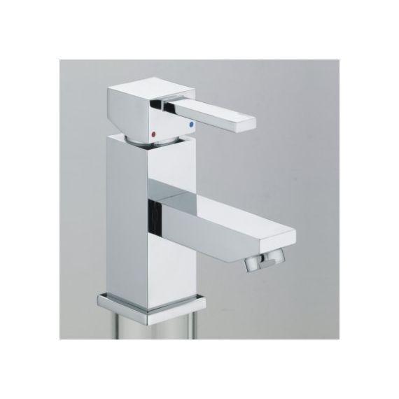 Bristan Quadrato Cloakroom 1 Tap Hole Deck Mounted Basin Tap