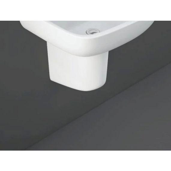 RAK-Series 600 Half Pedestal for 52cm Basin